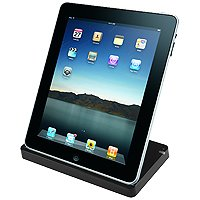 Cellet Cradle Charger with Data Cable & Audio Output For Apple iPad by Cellet