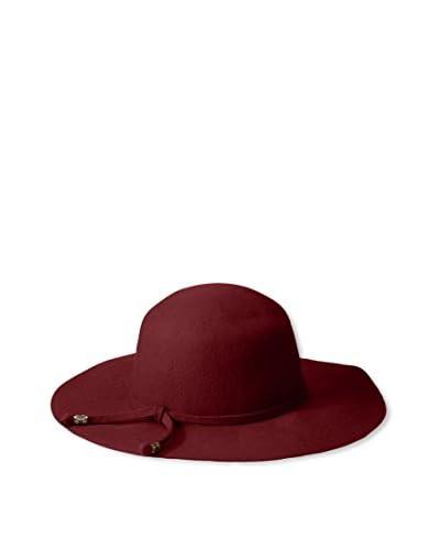 Giovannio Women's Floppy Hat, Dark Wine