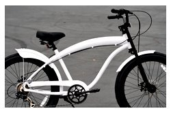 Anti-Rust Aluminum frame, Fito Modena GT Alloy 7-speed Matte White, Disk Brake, men's 26