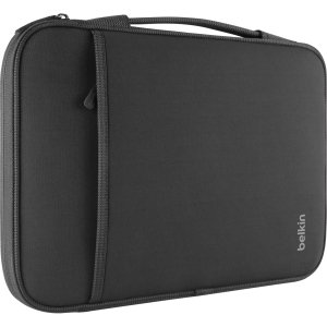 "BELKIN B2B064-C00 13"" Notebook/Chromebook Sleeve (Black) by Belkin Components"