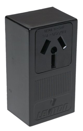 Eaton 50 Amp Heavyduty Grade Flush Mount Power Receptacle With 4wire