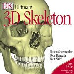New Dk Multimedia Ultimate 3d Skelton Human Skeleton Functions Position Names 206 Bones