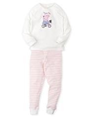 Soft & Cosy Peppa Pig Thermal Vest & Leggings Set
