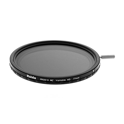 Haida 77mm PROII-S Multi-Coated Super Wide Angle Variable Neutral Density ND12-ND500 Filter (Singh Ray Variable Nd Filter compare prices)