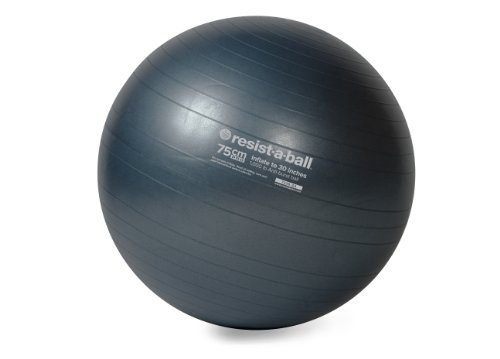 Resist-A-Ball® Commercial Grade Stability Ball - Pro Series - 75 CM - DK BLUE (Commercial Fitness compare prices)