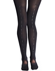 Autograph 60 Denier Body Sensor™ Opaque Tights MADE WITH SWAROVSKI® ELEMENTS