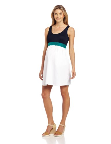 Jules & Jim Womens's Maternity Colorblock Dress