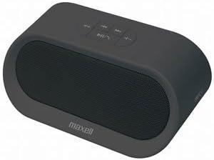 マクセル Bluetooth対応ポータブルスピーカー(ブラック)maxell MXSP-BT04BK