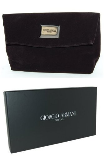 d05c7598cd3 Armani - Giorgio Armani Parfums Velvet Clutch Bag - Handbags.co.uk