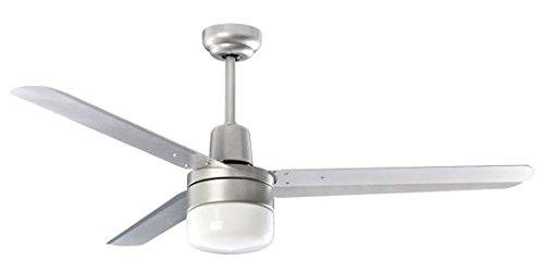 PERENZ 7146A Deckenventilator mit Licht 1xE27 Durchmesser 120 cm Farbe Silver