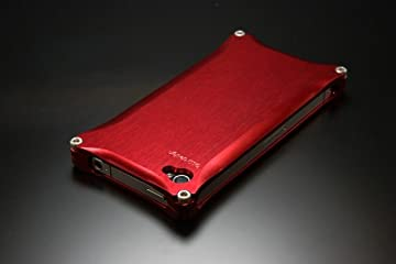ソリッド for iPhone4 Red GI-200R
