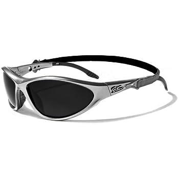 Biker Lunettes de Soleil - Sport - Cyclisme - Ski - Conduite - Motard / Mod. Solar Gris / Taille Unique Adulte / Protection 100% UV400