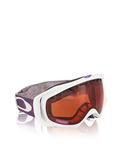 OAKLEY Occhiali da Neve Crowbar Mod. 7005N Clip Bianco/Viola