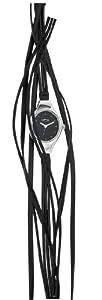 Opex - 2341B1 - Filante - Montre Femme - Quartz Analogique - Cadran Noir - Bracelet Cuir Noir