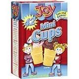 Joy Mini Cups; Mini Ice Cream Cones for Kids, 42 Count (1 Box (42 cones))