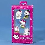 Hello Kitty 2'' Miniature Christmas Ornament (USA, JAPAN, RUSSIA, FRANCE & HOLLAND)