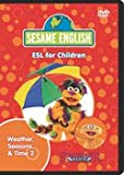 Sesame English ESL for Children Weather, Seasons & Time 2: Forecast Wind/What Time Is It?