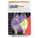 UPC 017801000016 product image for Flame Tip Light Bulb (Pack of 2)   upcitemdb.com