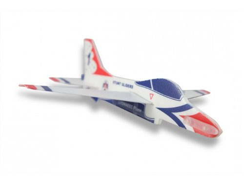 LYONAEEC Flyable Toy Model Stunt Glider F-16 Thunderbirds