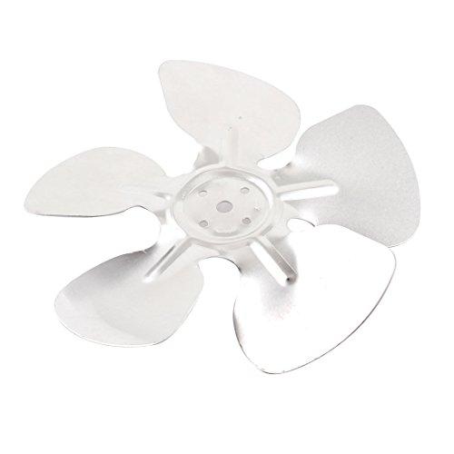 Home Plant Ventilator Exaust Motor Fan Blade Silver Tone 17cm Diameter (Silver Fan Blades compare prices)