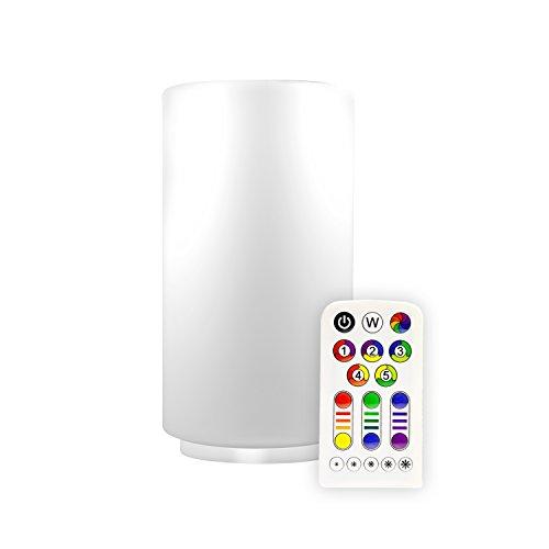 Mller-Licht-LED-Tischleuchte-EEK-A-mit-Farbwechsel-und-Warmwei-inkl-Fernbedienung-und-Batterie-ML57043-Zylinder-Form-RGB