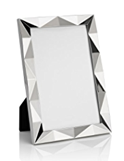 "Metal Geometric Photo Frame 10 x 15cm (4 x 6"")"