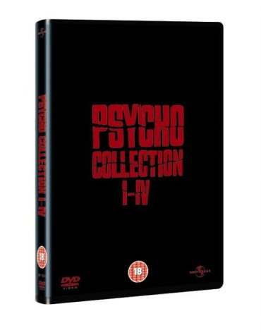 Psycho 1 - 4 Box Set [DVD]
