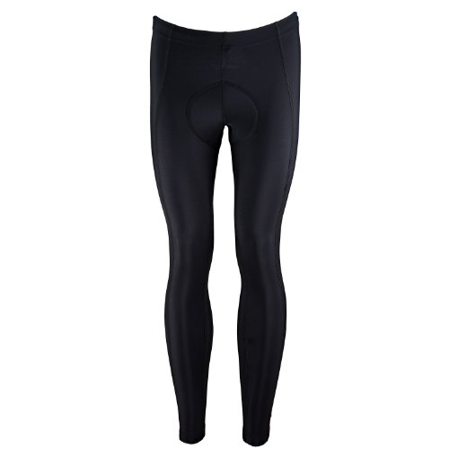 Buy Low Price Canari Cyclewear Men's Pro Elite Gel Cycle Tight (1645-BLACK)