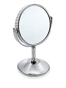 Tweezerman Luxe Edition Crystal Standing Vanity Mirror, 1 ea