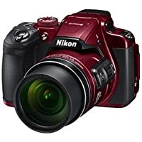 Nikon Coolpix B700 Digital Camera (Red) with 16GB Memory Card, Camera Case and HDMI Cable (Red)