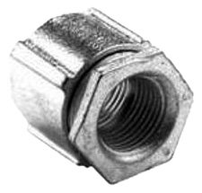 Bridgeport 1126-AL 2-Inch 3-Piece Conduit Couplings, 10-Pack