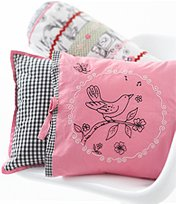 Whistle & Wink - China Doll Decorative Pillow front-760622