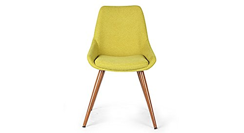 Urban Ladder Rickman FNSTCH51GR30132 Lounge Chair (Lime Green)
