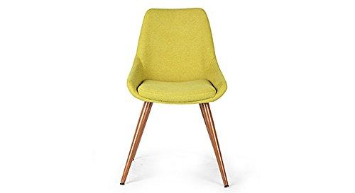 Urban Ladder Rickman FNSTCH51GR30132 Lounge Chair (Lime Green)