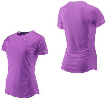 Womens Nike Short sleeve running exercise Lavender top