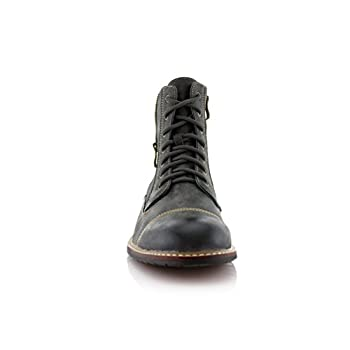 Ferro Aldo Mfa-808561 Mens Lace Up Military Combat Work Desert Ankle Boot