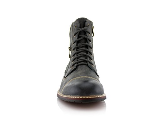 Ferro Aldo Mfa-808561 Mens Lace Up Military Combat Work Desert Ankle Boot 2