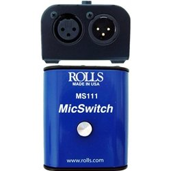 rolls Mic Switch On/Off (MS111) from rolls