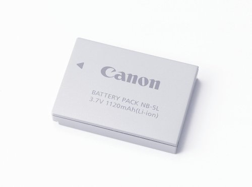 Canon NB-5L Lithium-Ion Battery (3.7v, 1120mAh) for Canon SD700IS, SD790IS, SD800IS, SD850IS, SD870IS, SD880IS, SD890IS, SD900, SD950IS, SD990IS, SD970IS & SX200IS Digital Cameras