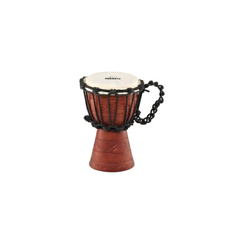 NINO African Style Rope Tuned Djembe 4 1 2-Inch XX Small Water SeriesB001D4MW6M : image