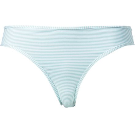 Carve Designs Janie Reversible Bikini Bottom - Women's Coast Stripe/Indigo, XL