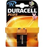 Duracell MN1604UK Duracell Plus Alkaline Battery 9V Size