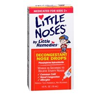 Little Remedies Little Remedies Little Noses Decongestant Nose Drops For Infants And Childrens, 0.5 Oz (Pack Of 2) front-68258