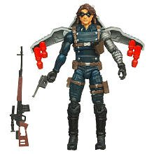 Captain America Movie 4 Inch Series 1 Action Figure Winter Soldier