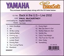 Paul McCartney - Paul Mccartney - Back in the U. S., Live 2002 (2-disk Set) (UK Import) - Zortam Music