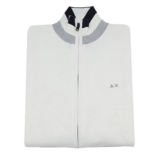 84356 cardigan SUN 68 COTONE maglia maglione uomo sweater men [S]