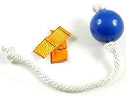 MAGNET BALL RUBBER WITH ROPE HANDLE WITH 2 REGULAR MAGNETS