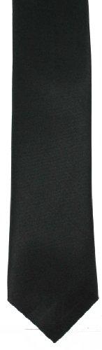 Men's Black Skinny Tie (Tie64)- Skinny Tie Reviews