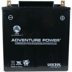 UPG UIX30L Adventure Power Power Sport AGM Series Sealed AGM Battery
