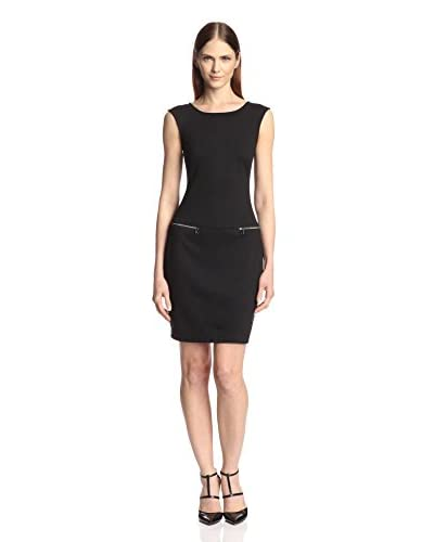 Marc New York Women's Cap Sleeve Shift Dress